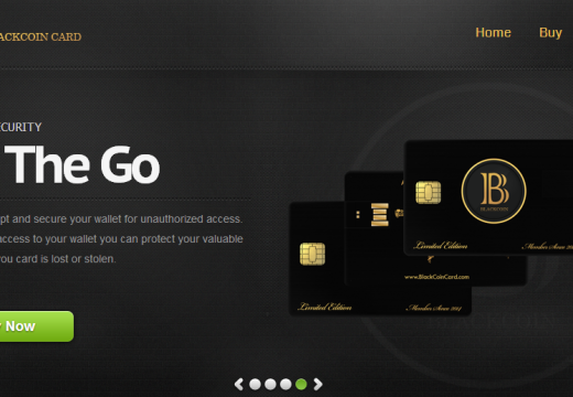 Blackcoin Card