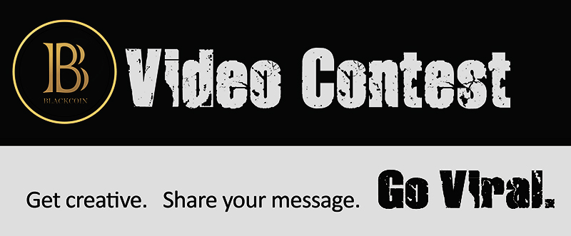 Blackcoin video contest