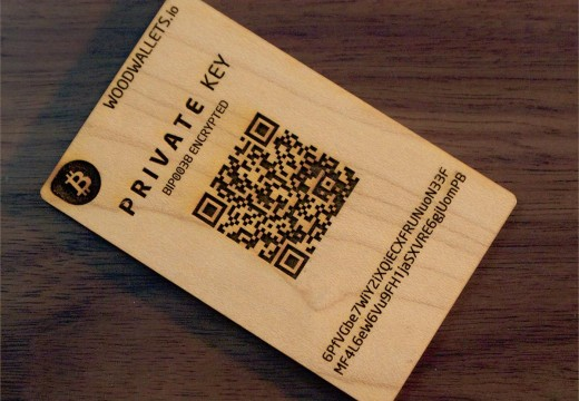 Blackcoin Woodenwallet