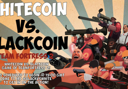 Team Fortress 2: Blackcoin vs Whitecoin