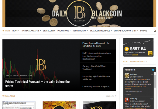 Dailyblackcoin.com updated!