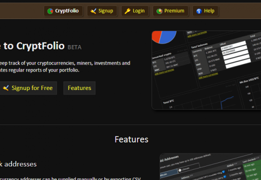 CryptFolio now supports Blackcoin Ð track your addresses, exchanges and miners for free.
