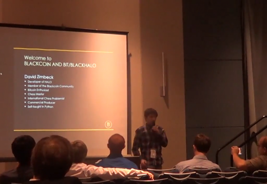 BLACKCOIN and BLACKHALO Presentation by David Zimbeck at Cryptolina